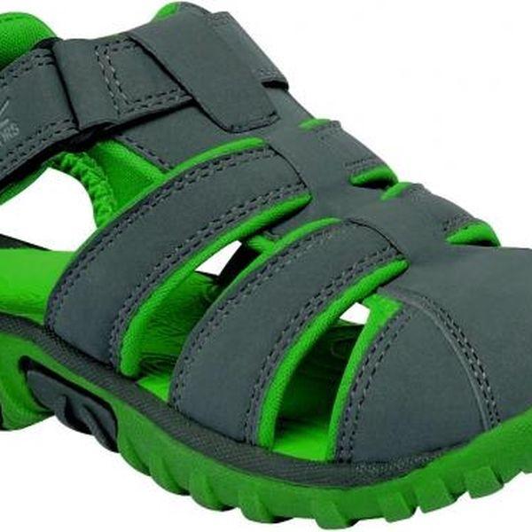 Dětské sandály Regatta RKF411 BOARDWALK Grani/ExtGrn