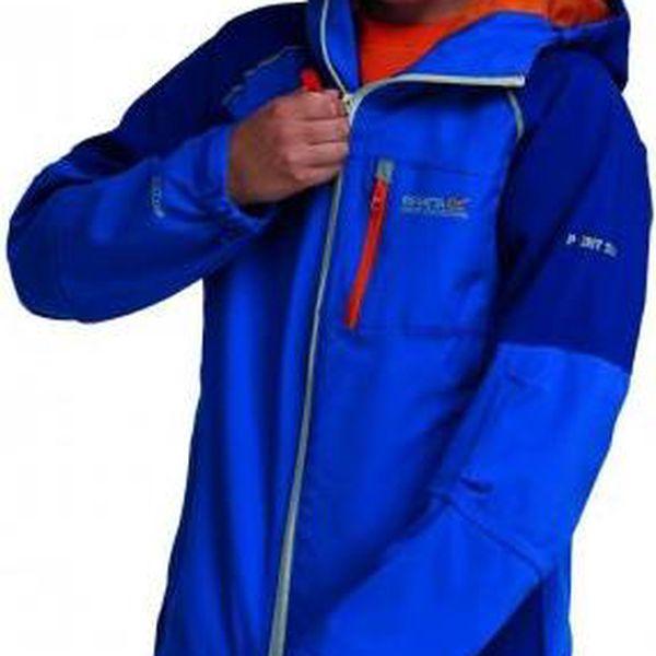 Dětská - juniorská bunda Regatta RKW151 SCAFELL STR Oxford Blue