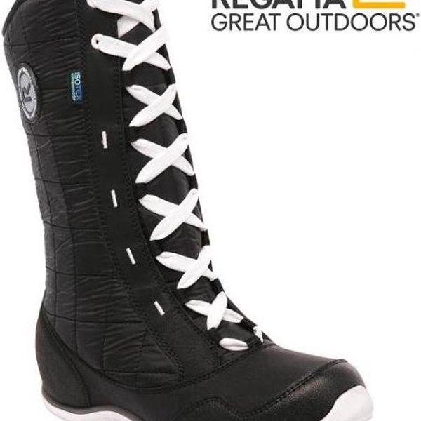 Dámské zimní boty Regatta RWF437 NORTHSTAR Black/White