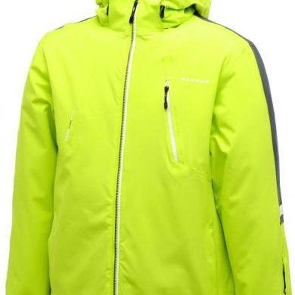 Pánská lyžařská/SNB bunda Dare2B DMP142 SYNERGIZE Lime Zest