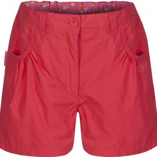 Dětské - juniorské dívčí šortky Regatta DODDLE RKJ056 Coral Blush