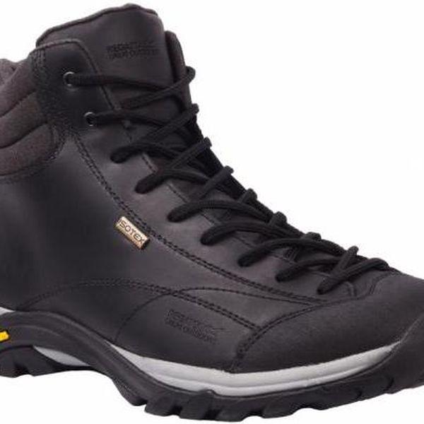Pánská obuv Regatta SBRFM486 Le FLORIAN HIGH Black / Dark Grey