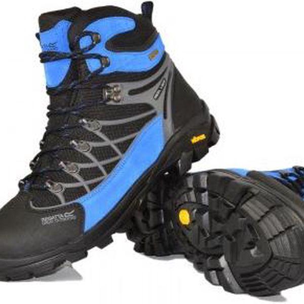 Pánská vysoká outdoorová obuv Regatta SBRFM484 INTERACTIVE Black/Blue