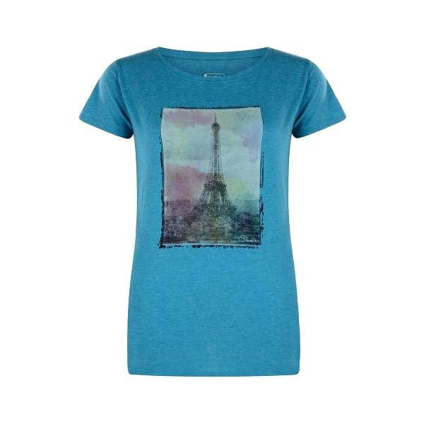 Dámské tričko Dare2B DWT320 TOWER ABOVE Enamel Blue Marl