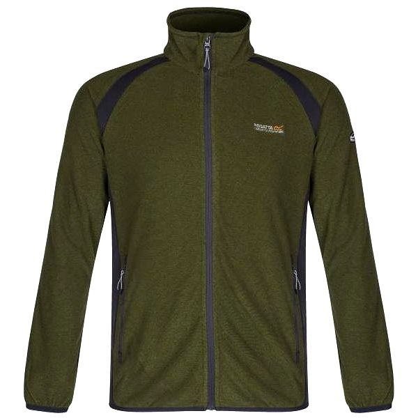 Pánská fleece mikina (bunda) Regatta RMA210 MONS CallaGr/SlGy