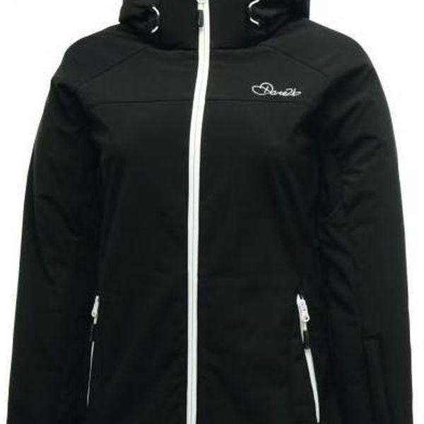 Dámská podzimní/zimní softshellová bunda Dare2B DWL112 MOONSTRUCK SSHELL Black
