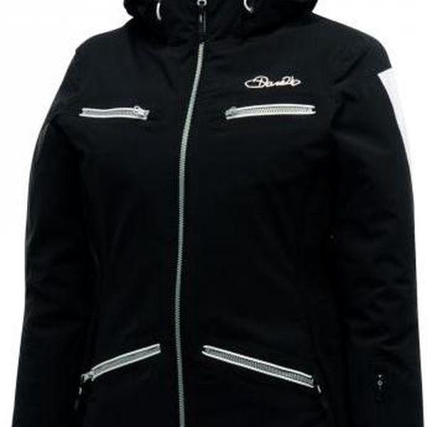 Dámská lyžařská bunda Dare2B DWP139 FLATTER Jacket Black
