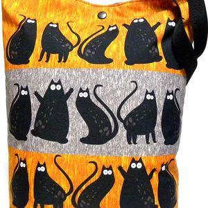 Taška Gaul kočky 07 42x32 cm digitální tisk, Gaul designs
