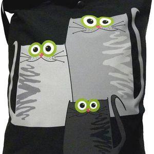 Taška s kočkou Gaul 11 42x32 cm, Gaul designs