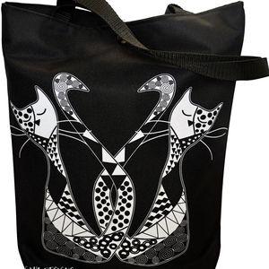 Taška s kočkou Gaul 12 42x32 cm, Gaul designs