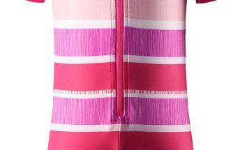 Reima Dívčí plavky/oblečení k vodě Odessa s UV 50+ supreme pink