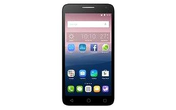 ALCATEL ONETOUCH 5025D POP 3 Black Leather