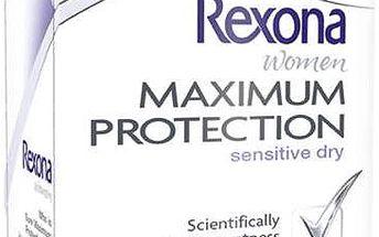 REXONA deo stick Maximum Protection Sensitive 45ml (antiperspirant)