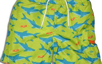 Minoti Chlapecké kraťasy/plavky SNAP 7- zelené