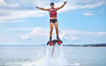 Flyboarding pro jednoho vč. instruktáže a výbavy