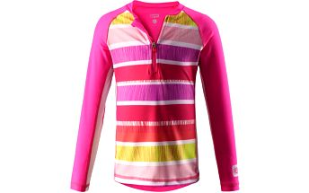 Reima Dívčí plavecké tričko s UV 50+ Solomon supreme pink