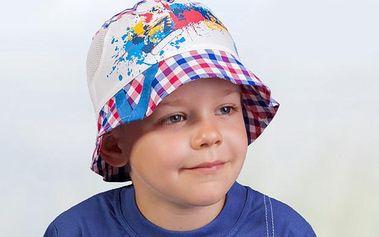 TuTu Chlapecký klobouček - červený