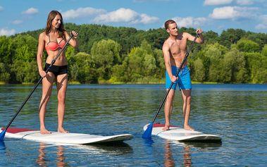 Zapůjčení paddleboardu nebo aquazorbingové koule