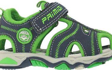Primigi Chlapecké sandály - šedo-zelené