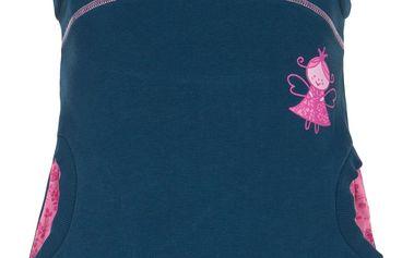 G-mini Dívčí šaty s vílou Helga - modré