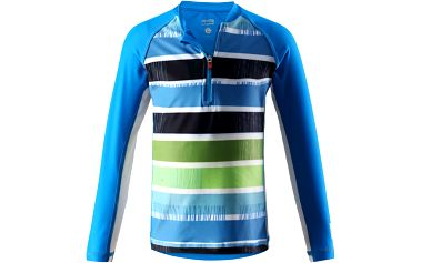 Reima Chlapecké plavecké tričko s UV 50+ Solomon ocean blue
