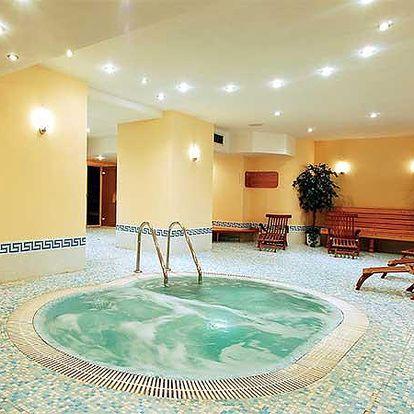 Luxusní wellness v Grandhotelu Clarion Zlatý Lev