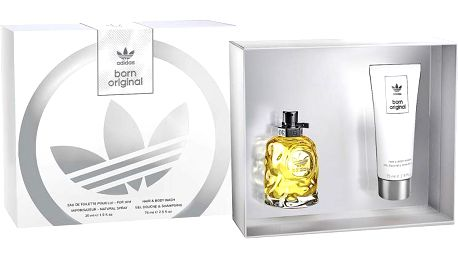 Adidas Born Original For Him - EDT 30 ml + sprchový gel 75 ml