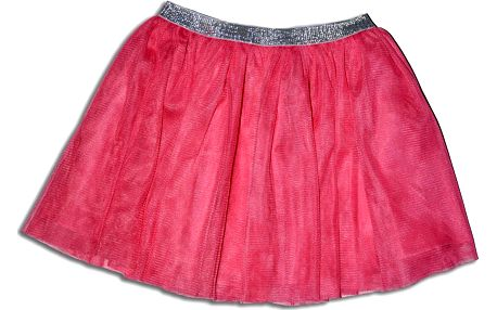 Minoti Dívčí sukně GARDEN 7- růžová