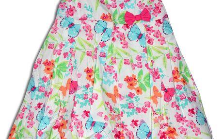 Minoti Dívčí letní šaty (větší) TROPICAL 1- barevné