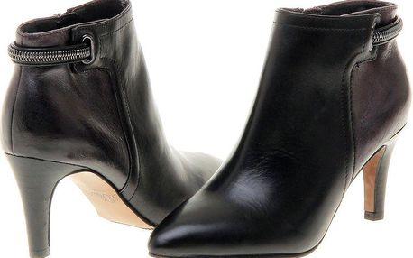s.Oliver dámská kotníčková obuv 40 černá