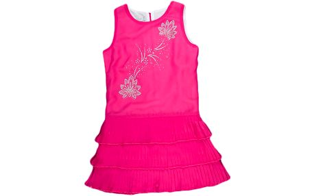 MMDadak Dívčí plisované šaty