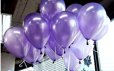 Barevné balónky na párty