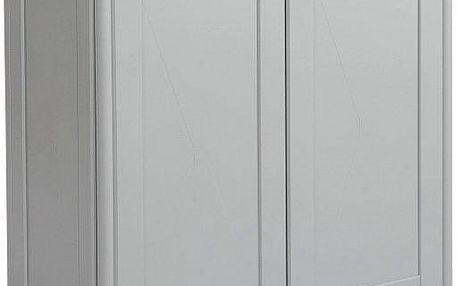 Tontarelli Skříňka otevírací 85,5 cm šedá