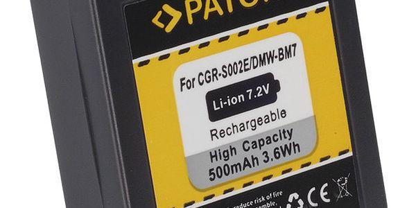 Patona baterie pro Panasonic Lumix BM7 500mAh - PT1027