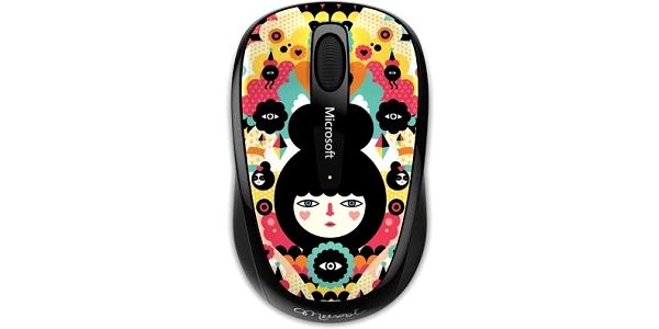 Microsoft Mobile Mouse 3500 Artist Muxxi
