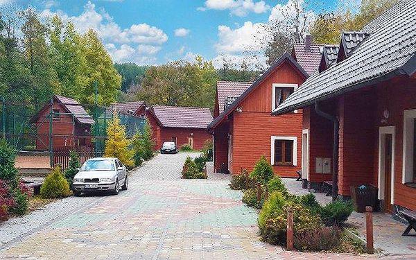 4–6denní pronájem horské chaty v komplexu Avalanche v Jeseníkách pro 2–12 osob