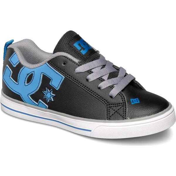 DC Court Graffik Vulc B Black/Glacier Blue 34
