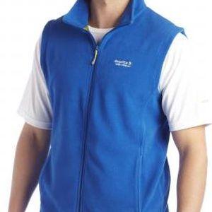 Pánská fleece vesta Regatta RMB012 Tobias B/W Oxford Blue