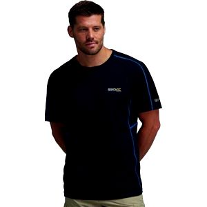 Pánské funkční tričko Regatta RMT097 SHERBURNE Black