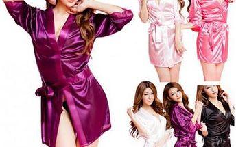 Luxusní saténové noční košilky Shiny jen za 159 Kč