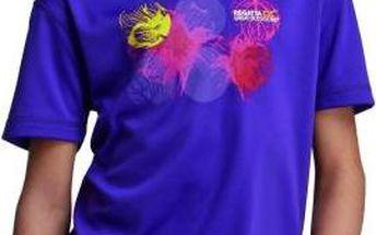 Dětské juniorské triko Regatta RKT053 ABIS Alpine Purple