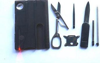 Multifunkční karta plná nástrojů - dodání do 2 dnů