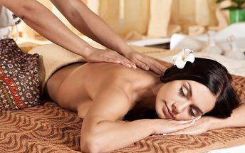 Blahodárná masáž od thajských masérek