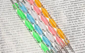 Pera pro vytváření motivů - barevné