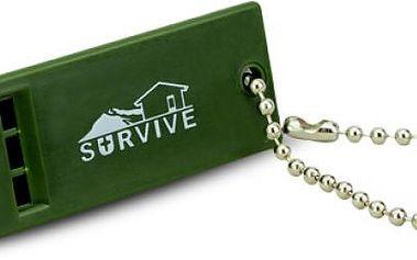 Bezpečnostní píšťalka - přívěsek na klíče