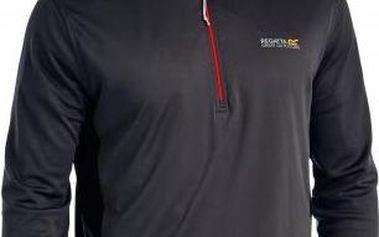Pánské funkční tričko Regatta RMT101 FROSWICK Seal Grey/Black