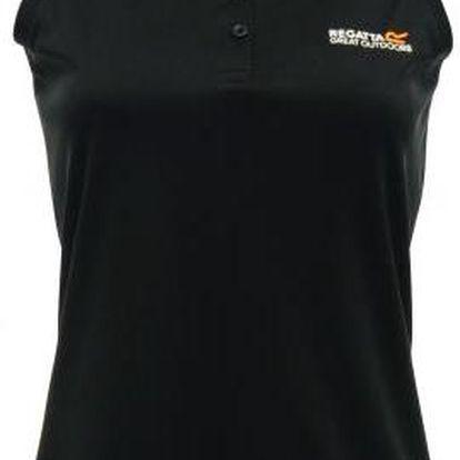 Dámské fukční tričko bez rukávů Regatta RWT089 Fatima black