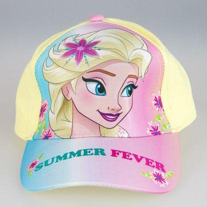Dětská kšiltovka Frozen Disney jarní Elsa a Anna