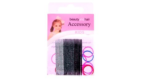 Fashion Icon Dětské dívčí sponky do vlasů s gumičkami