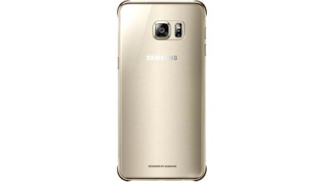 Samsung kryt Clear Cover pro Galaxy S6 edge+ (SM-G928F), zlatá - EF-QG928CFEGWW
